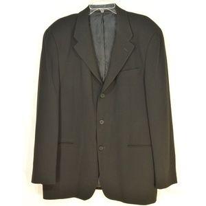 Emporio Armani Suits & Blazers - Emporio Armani sports coat blazer SZ 44 black 100%